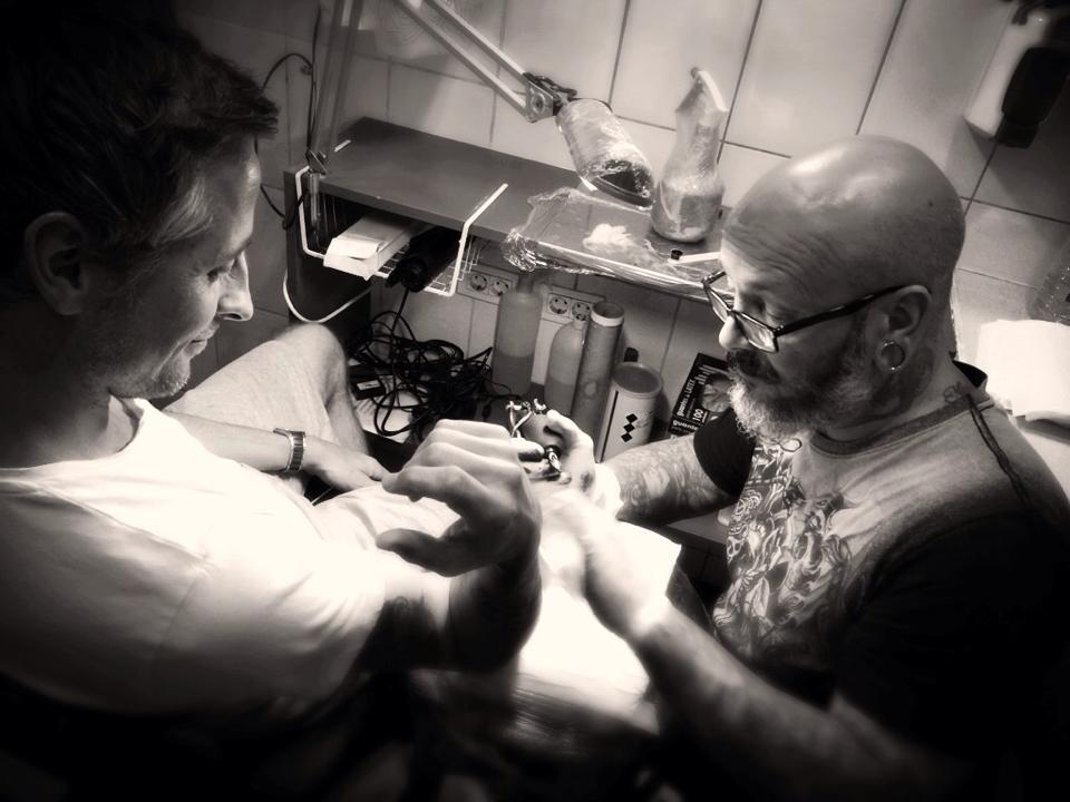 tattoo foto serie