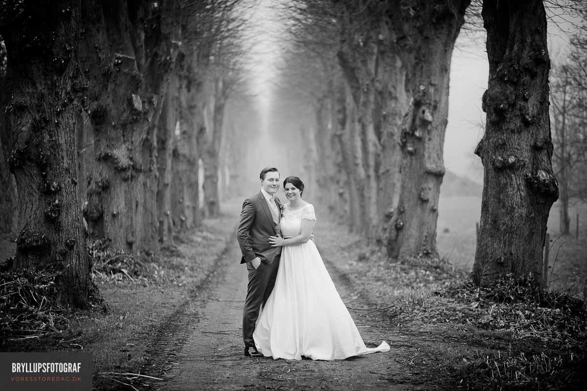 bryllupsfotograf pris Fredericia