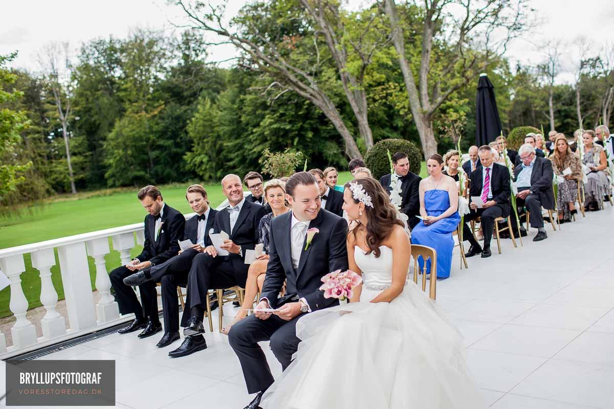 forberedelse, vielse, reception, fest, brudevals Fredericia