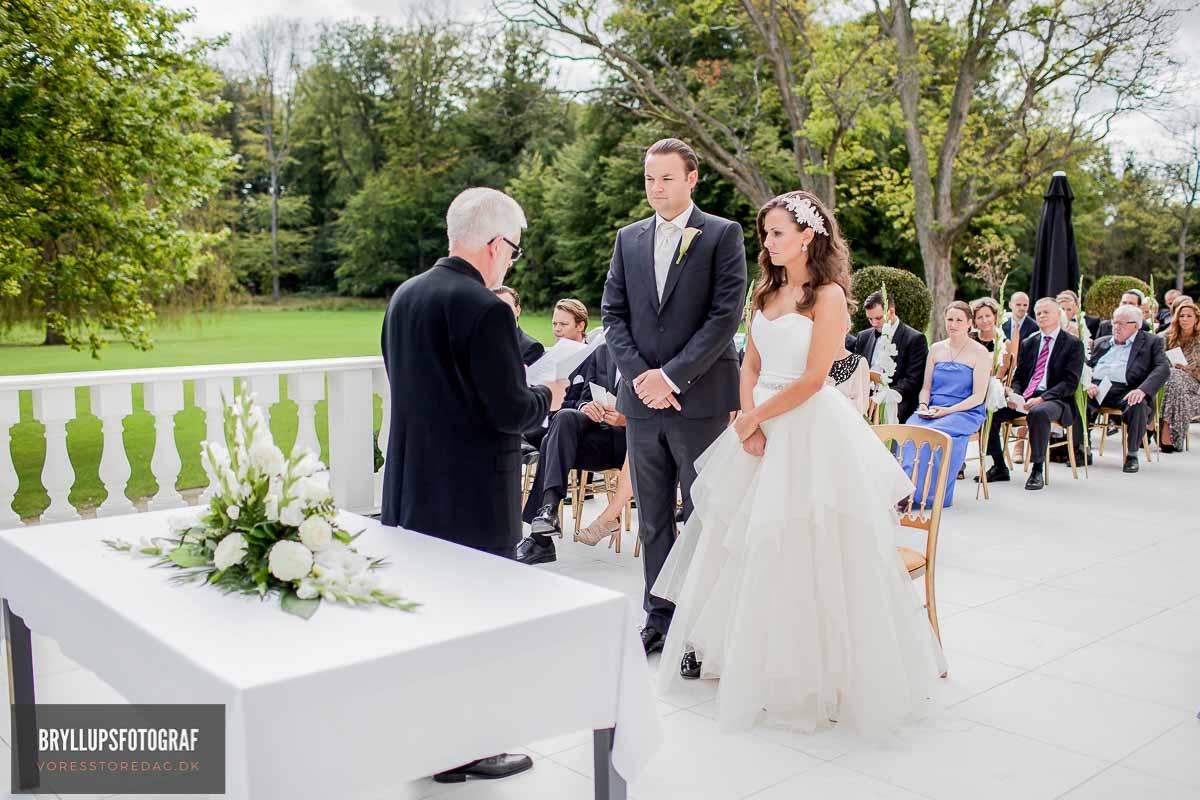 klassiske bryllupsportrætter Fredericia