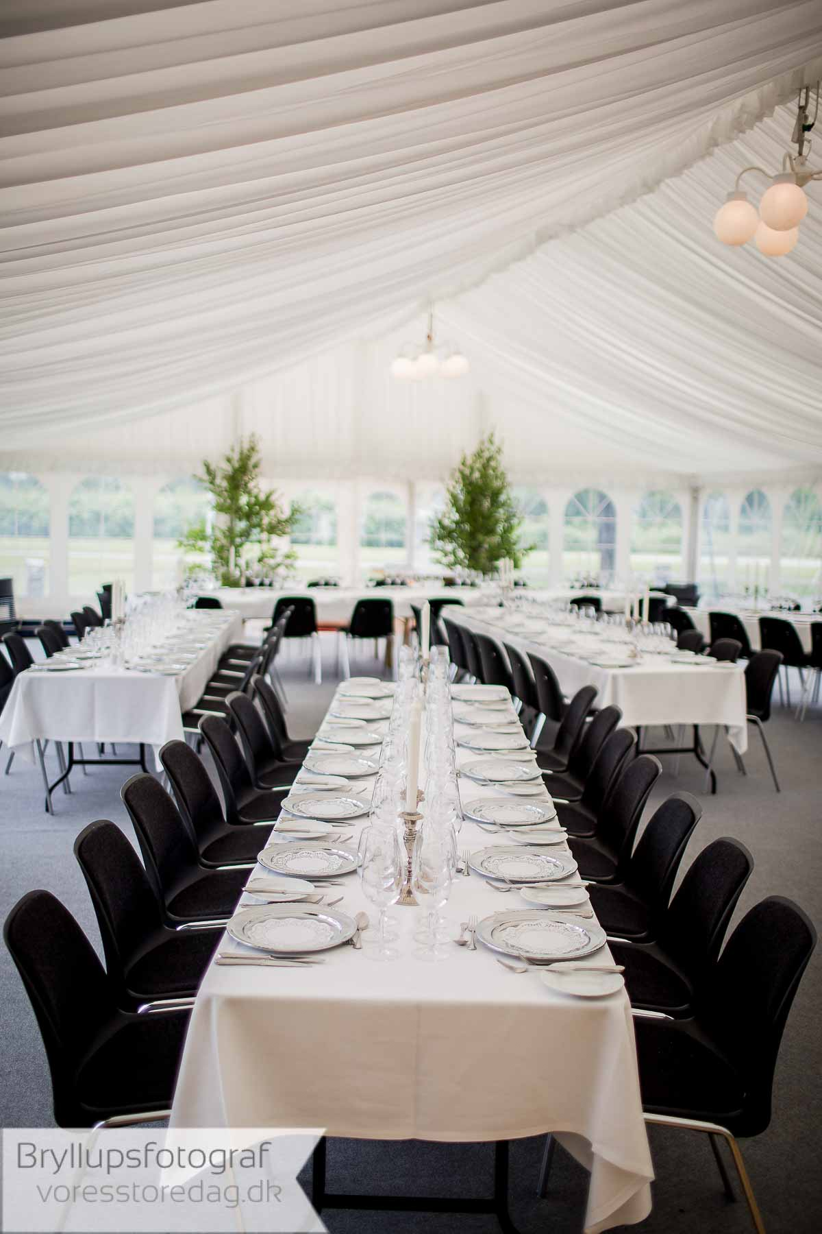 bryllup i telt Fredericia