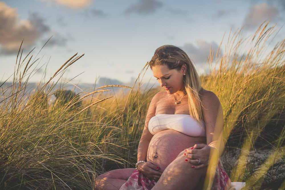 gravid fotografering udendørs Fredericia