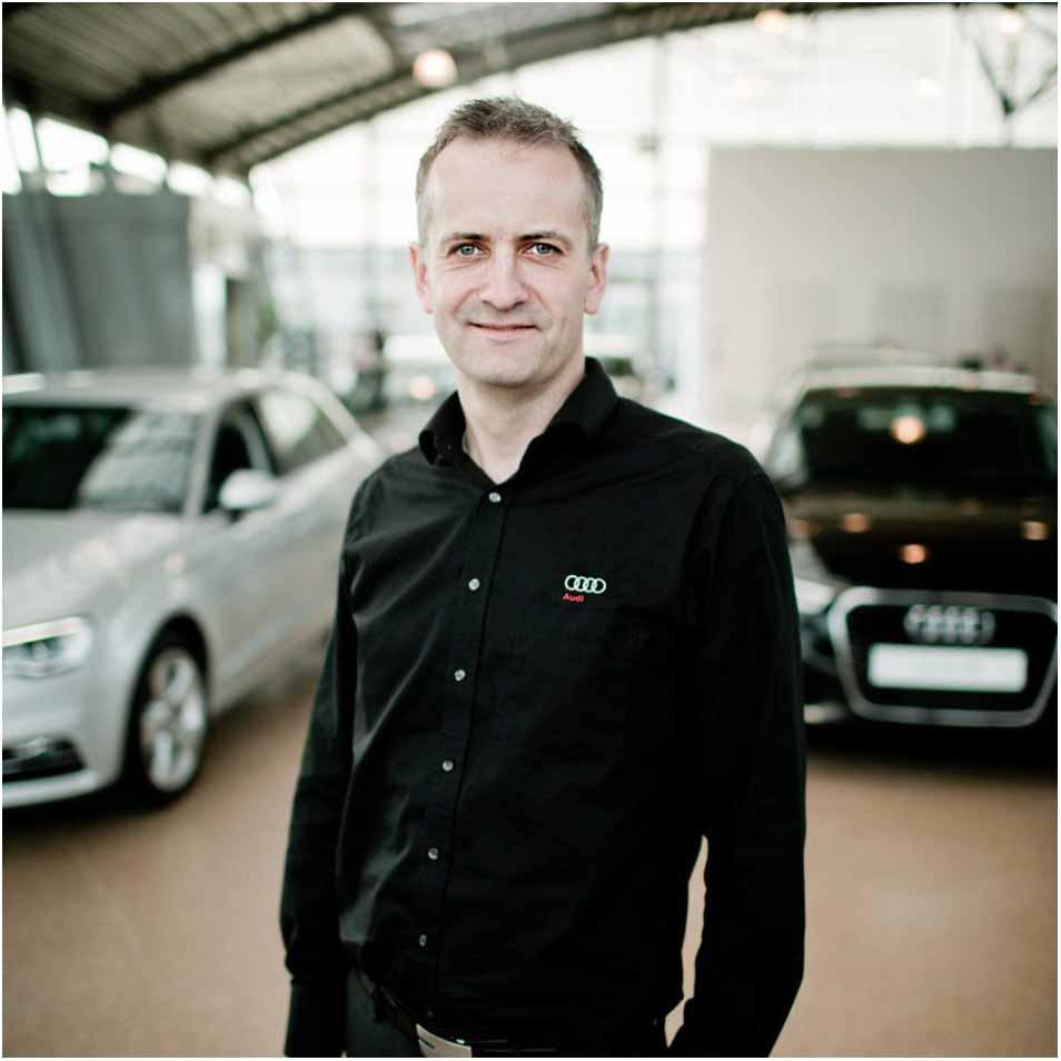 Medarbejderportræt af Audi ansat