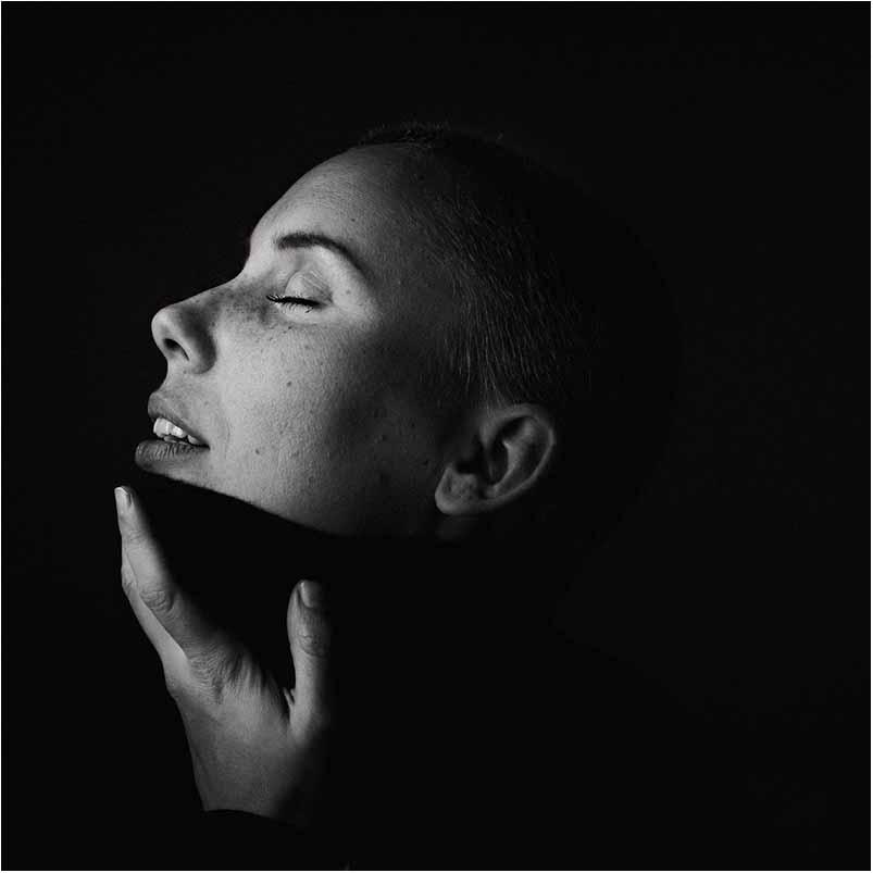 sangerinde portræt